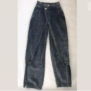 5/$20  Vtg High Waist Jeans Stone Wash Tapered